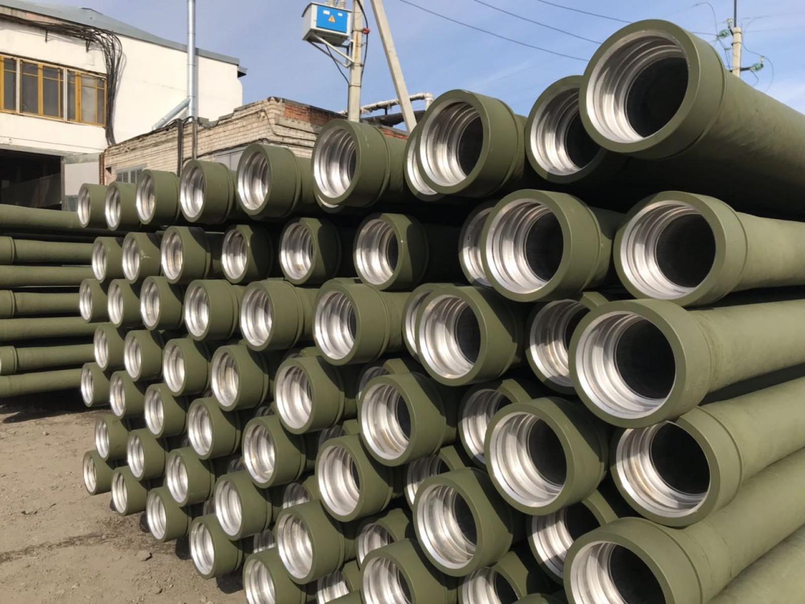 Трубопровод сборно-разборный металлокомпозитный ТСР-МК-100